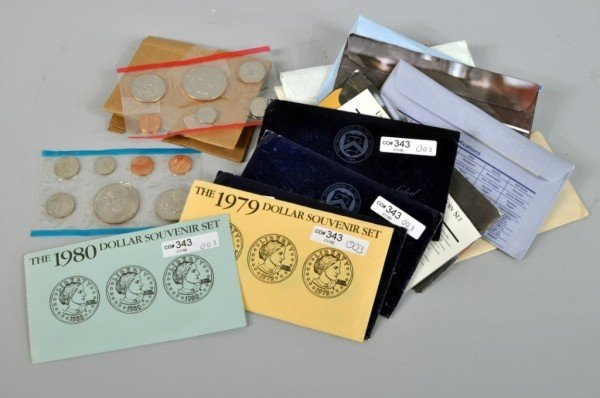 3: 16 US Uncirculated Coin Sets, 1970s-1990s