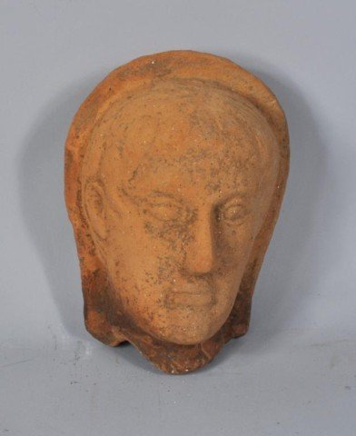 11: Etruscan Terra Cotta Head