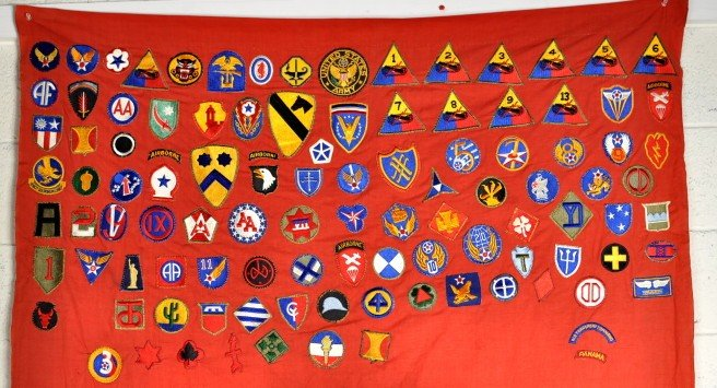 3: Nazi Flag, US Military Patches