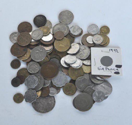 9: Large Group of 20th Century World Coins
