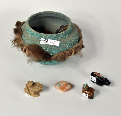 10: Group of Native American Items