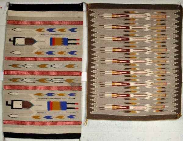 13: Two Native American Woven Rugs