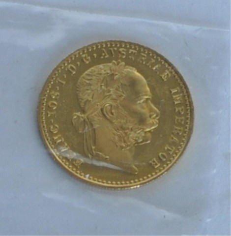 16: Austrian Gold Coin
