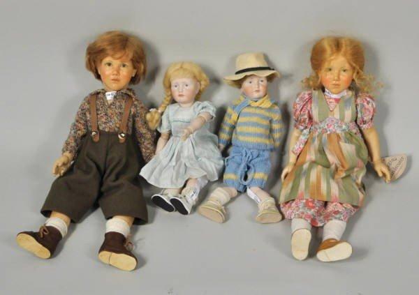 72: Group Four Dolls