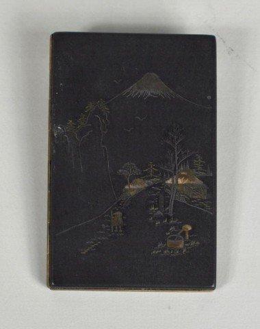 3: Asian Design Gilt Bronze Cigarette Case