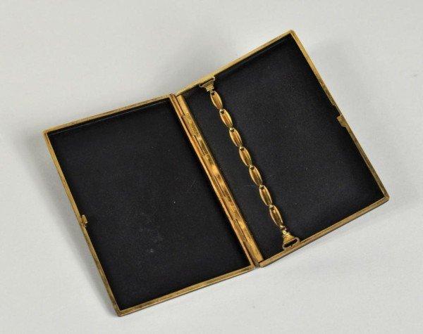 3: Asian Design Gilt Bronze Cigarette Case - 2