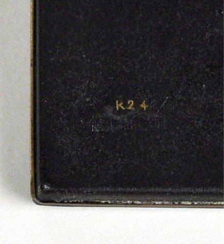3: Asian Design Gilt Bronze Cigarette Case - 3