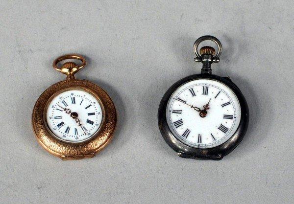 16: Two Ladies Pendant Watches