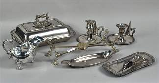 120 Group Seven Sheffield and SilverPlated Articles
