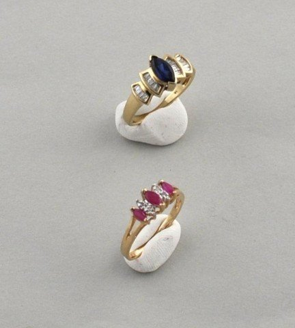 5: Two 10K Gold Rings
