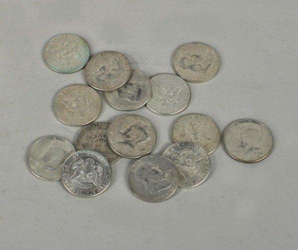6: Group Fourteen U.S. Silver Half Dollars
