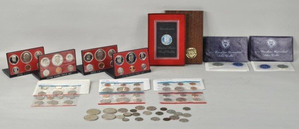 10: Nice Lot of U.S. Collectable Coins