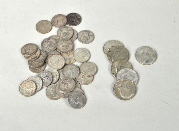 12: Group of U.S. Silver Coins