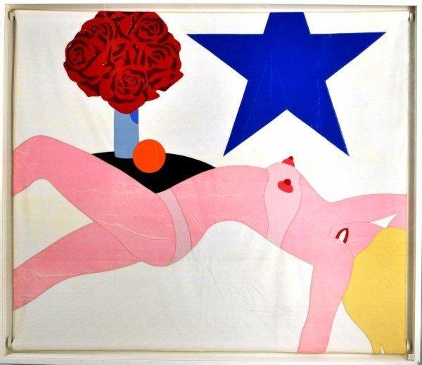 "107: Tom Wesselmann (Am. 1931-2004) ""Nude Banner"""