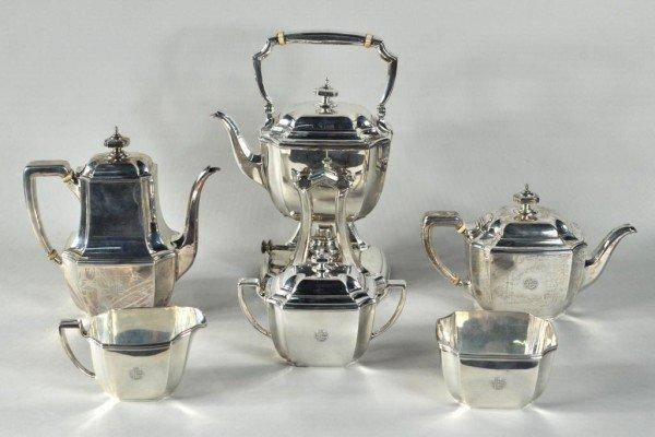 108: Tiffany Six Piece Sterling Silver Tea Service
