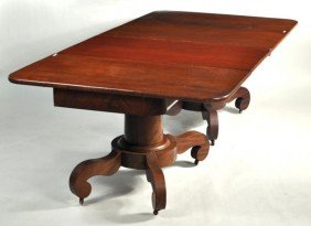 Classical Mahogany Two Pedestal Dining Table