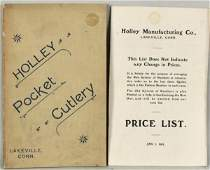 162 Holley Knife Company Catalog  Price List