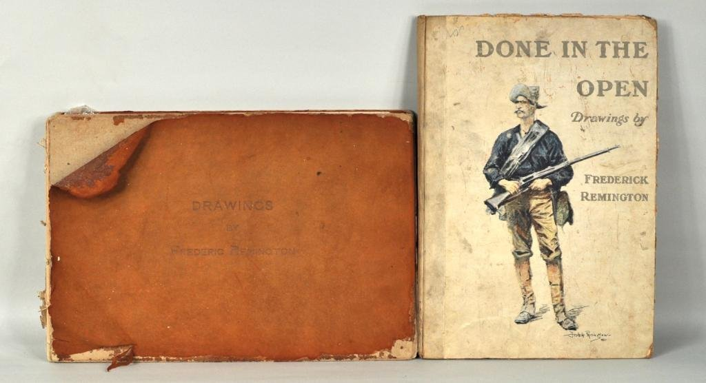 27: Frederic Remington, Signed Books and Lithographs