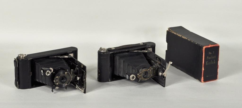 41: Two Vintage Kodak Cameras