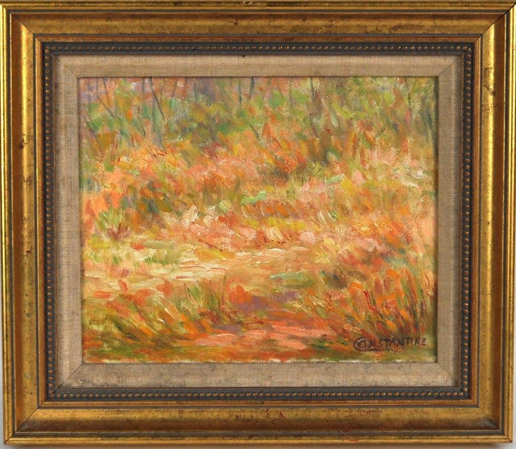 400: Lois Constantine (Am.) Framed Oil on Canvas