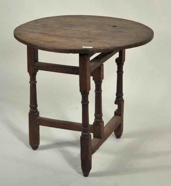 4: English Country Oak Tuckaway Table