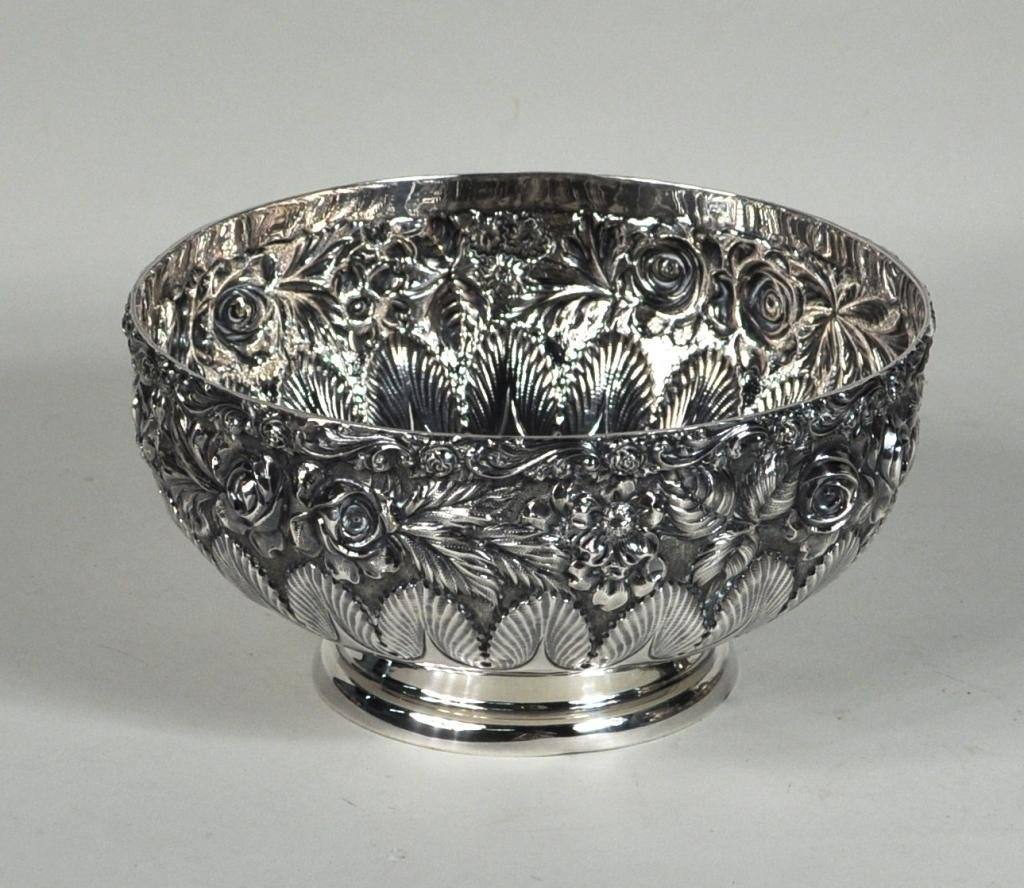 18: Schofield Co. Balto-Rose Sterling Silver Bowl