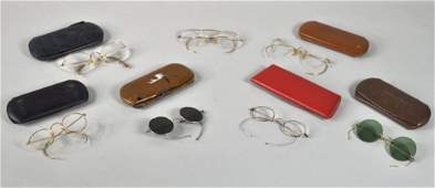 97: Group Seven Pairs Vintage Eye Glasses