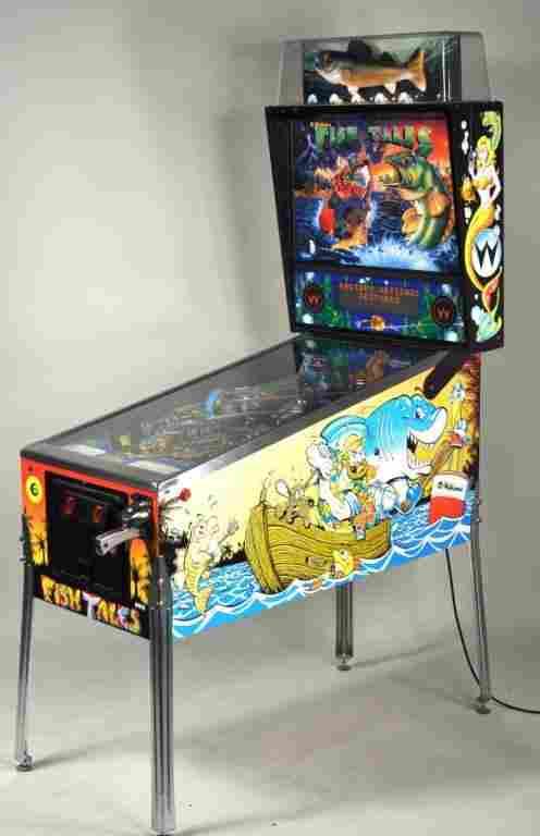"""Williams """"Fish Tales"""" Pinball Machine"""