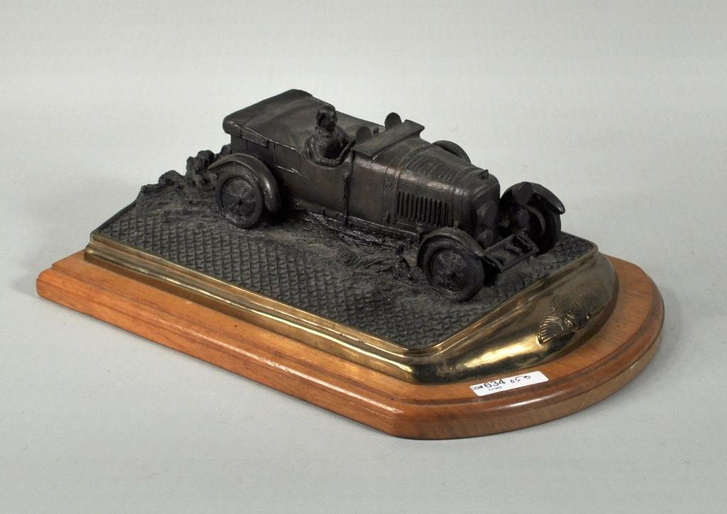 5: Limited Edition Cast Bronze Model Bentley