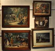 251 Group of Five Framed Artworks