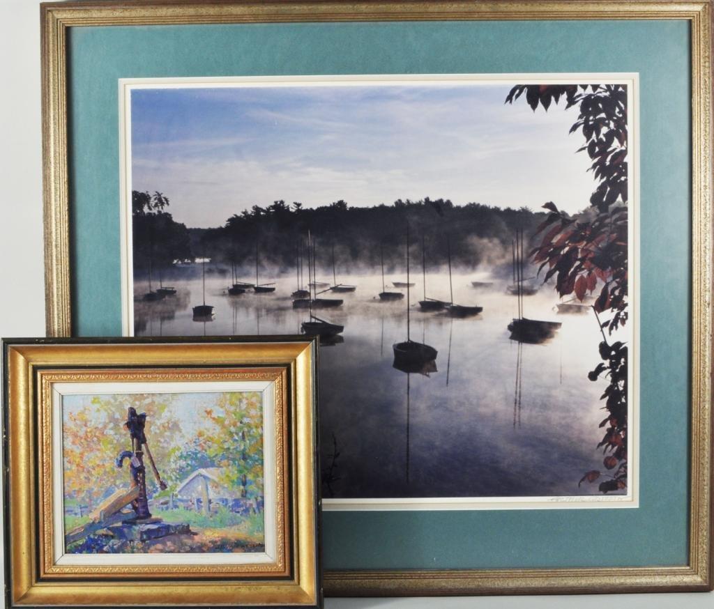 264: Group Five Framed Artworks