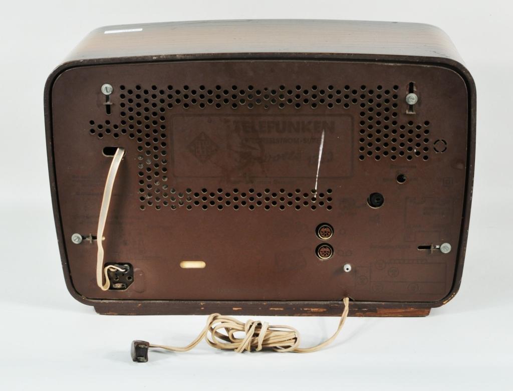 """31: German Telefunken """"Gavotte"""" Shortwave Radio - 3"""