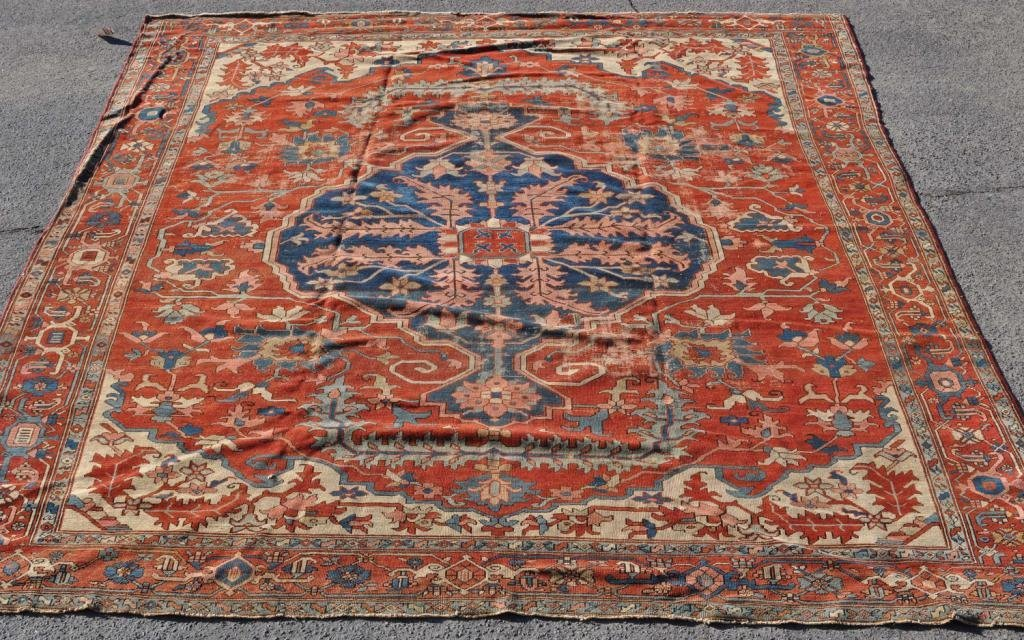353: Room Size Oriental Rug