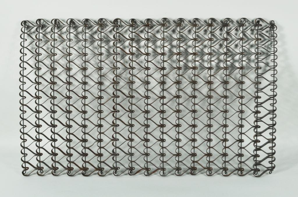 Wrought Iron Metal Heart Form Doormat
