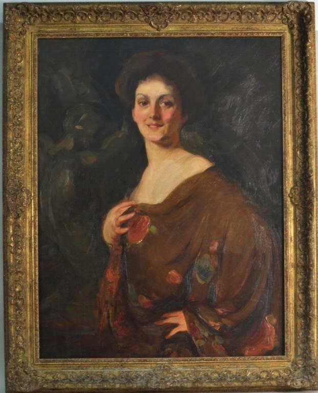 Attrib. H.C. Christy, Oil on Canvas