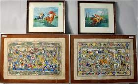 Four Artworks, 20th C.