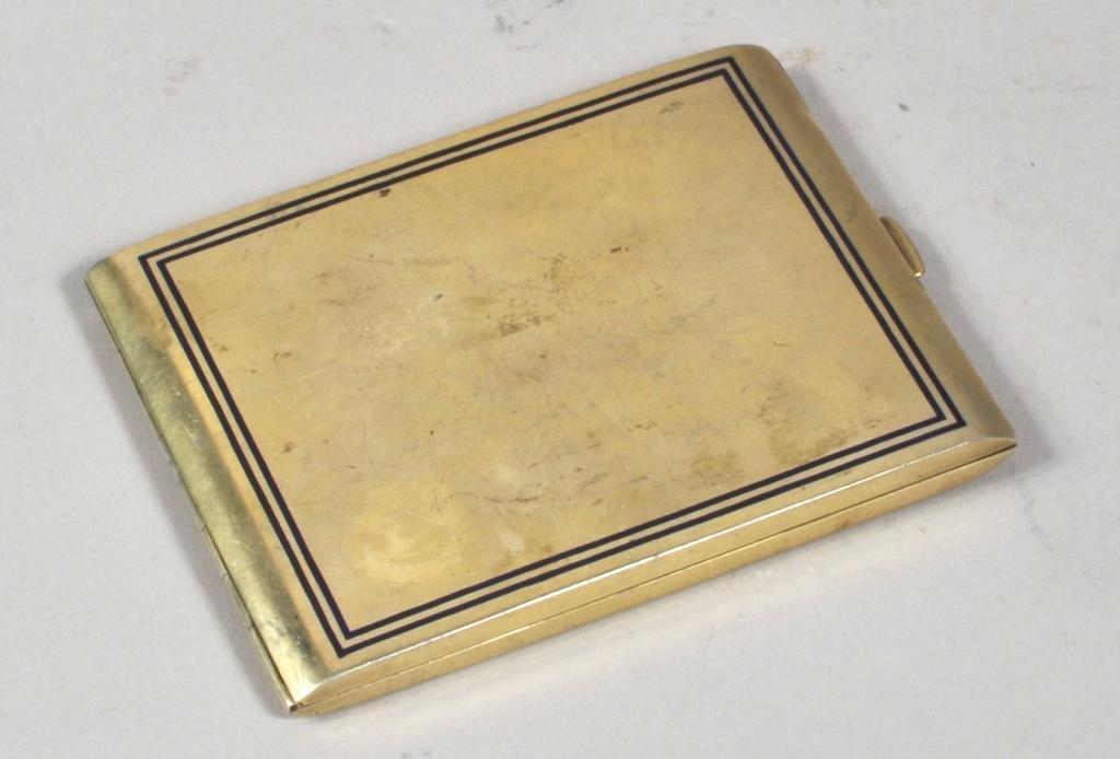Russian Faberge Cigarette Case