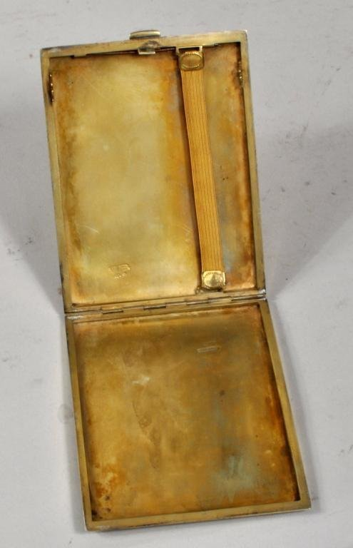 Russian Faberge Cigarette Case - 2