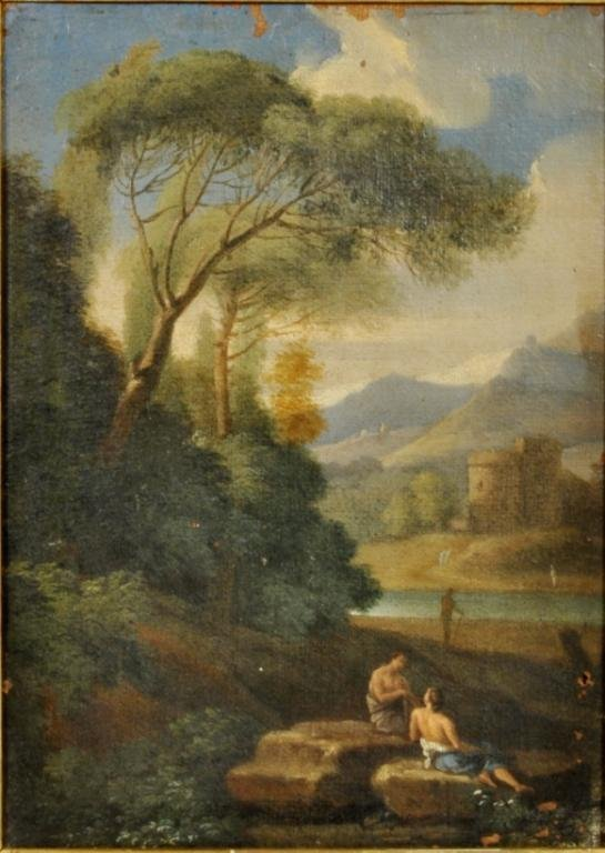 Possibly Abraham Genoels Oil on Canvas - 2