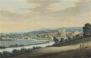 Farrington Era (Eng. 1747-1821) Colored Engraving