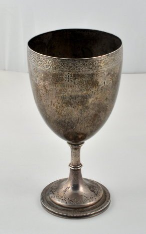 Rare Sheffield Football Club Silver Cup of 1872