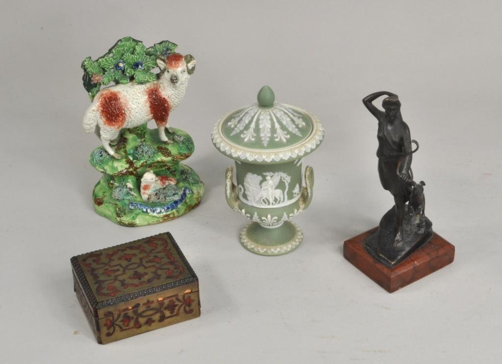 Group Four Interesting Decorative Arts Items