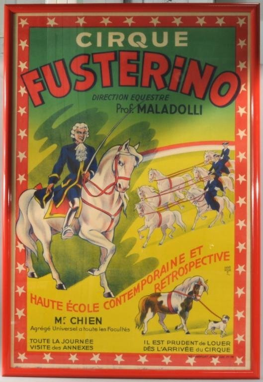 French Circus Poster