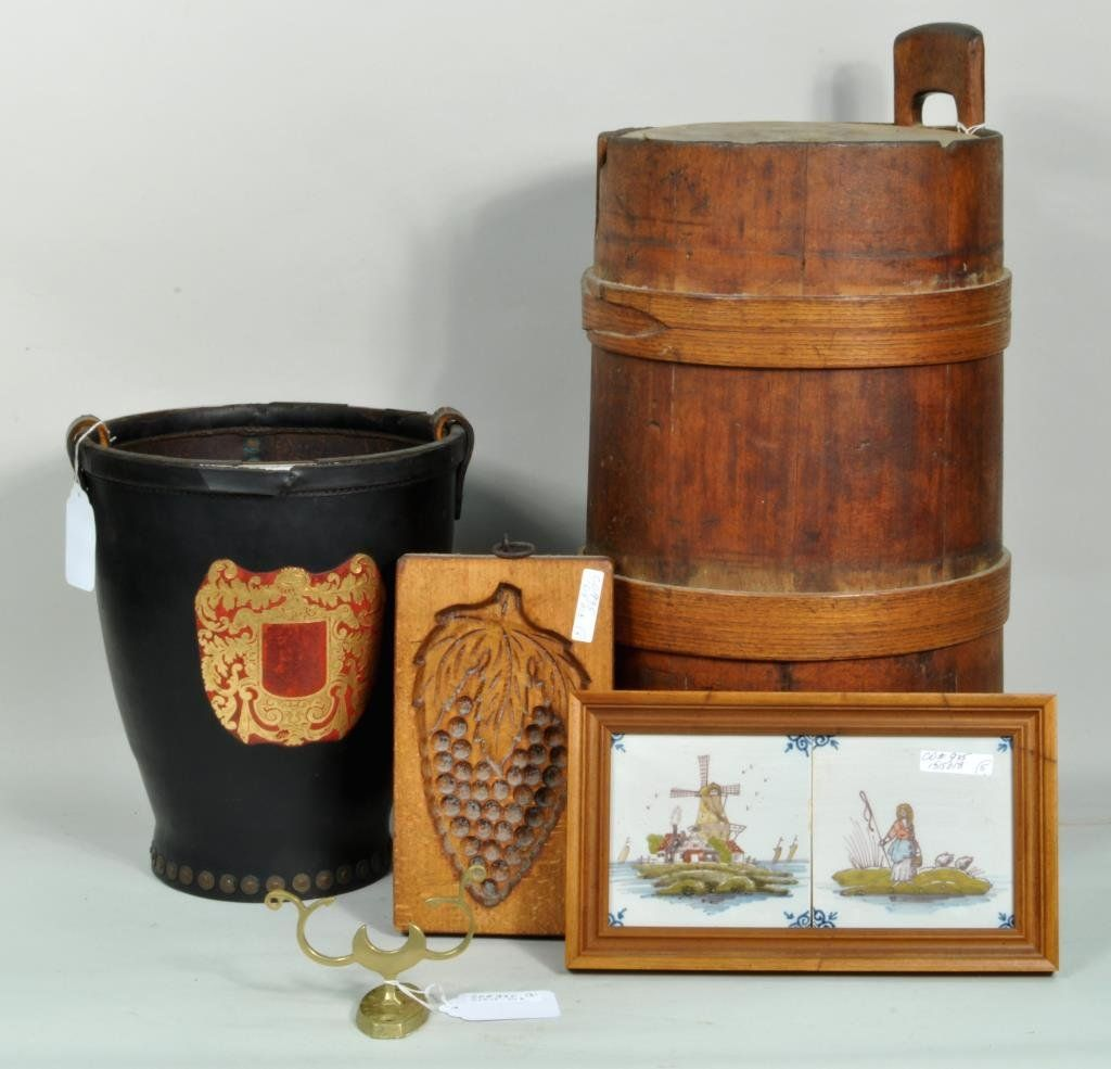 Group Five Assorted Decorative Arts Items