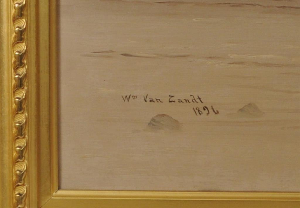 Wm. Van Zandt, O/C Sulky and Rider, Original Frame - 3