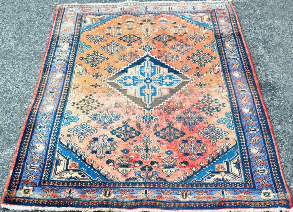 Persian Wool Shirvan Rug
