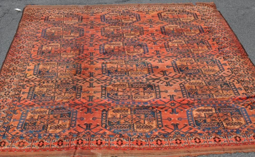 Turkoman Rug, As Is