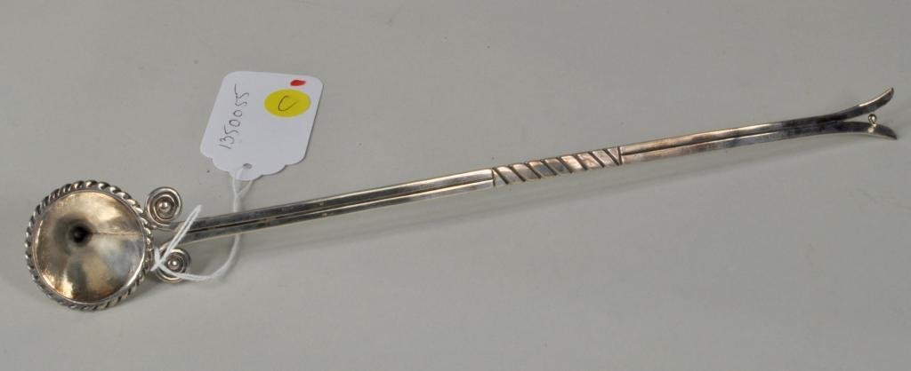 Hector Aguilar Sterling Silver Candle Snuffer