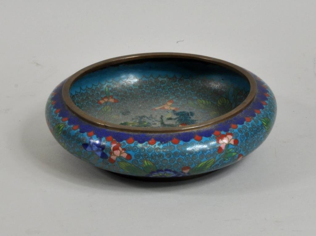 Chinese Cloisonne Bowl - 2