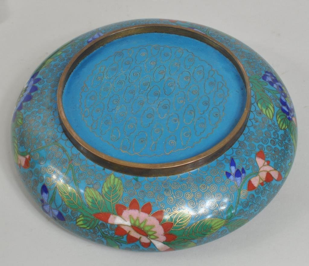Chinese Cloisonne Bowl - 4
